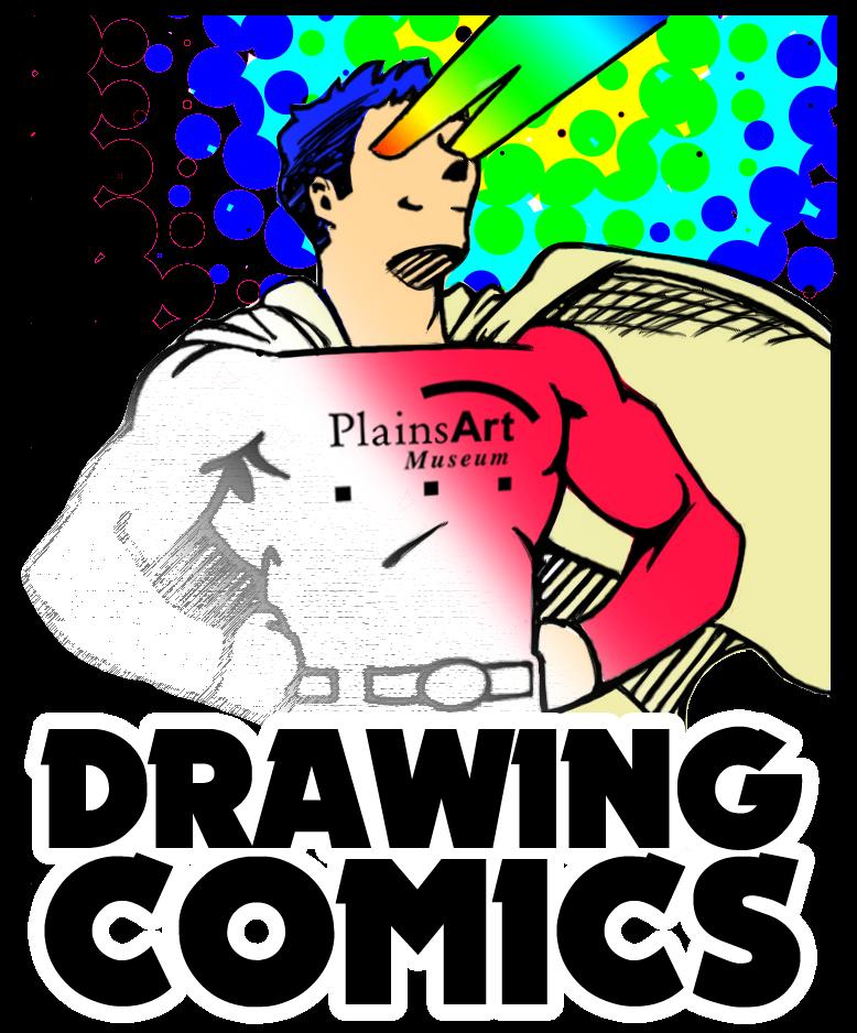 drawing comics logo copy